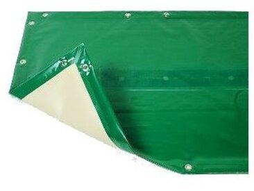 Bâche hiver Luxe verte compatible piscine Cristaline Evolux 5.30x3.70m
