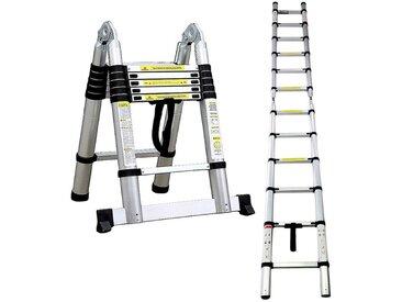 Échelle Multifonction, Escabeau, 3,8 mètre(s), Barre stabilisatrice, EN 131, Standards/Certifications: EN131