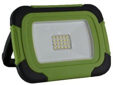 V-tac VT-10-R LED Bouwlamp / Werklamp op accu - 10W - 6400K - Groen