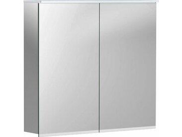 Geberit Armoire de toilette Geberit Option Plus avec éclairage, deux portes, largeur : 75 cm, 500206001 - 500.206.00.1