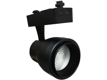 Spot LED sur Rail 30W Multi-angle COB Monophasé NOIR - Blanc Chaud 2300K - 3500K