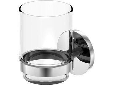 Steinberg Série 650 Porte-verre avec verre, laiton, chromé - 6502000