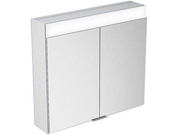 Armoire de toilette Keuco Edition 400 21551 avec chauffage de miroir, montage mural, 710x650x154 mm - 21551171301