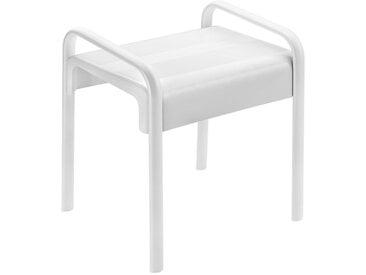 Tabouret de douche modèle ARSIS - Blanc et Gris