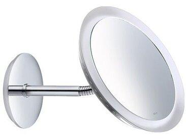 Miroir cosmétique Keuco Bella Vista 17605, modèle mural, chromé - 17605019000