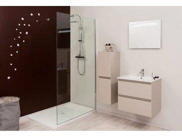 Paroi de douche italienne transpartent 100 x 200 cm