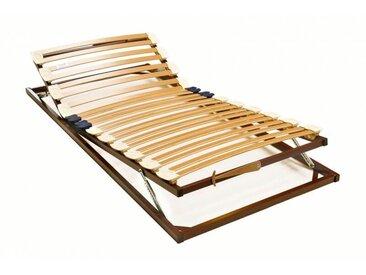 Sommier de relaxation manuel en métal Alissa 70 x 200 cm