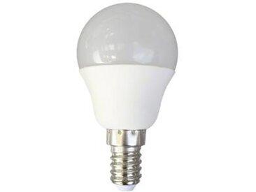 LED E14 SPHERIQUE - 6W BLANC CHAUD