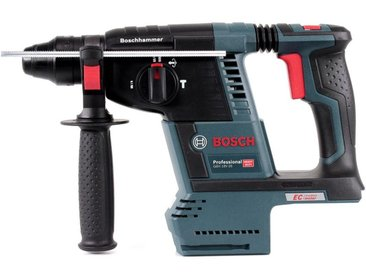 Bosch GBH 18 V-26 Perforateur sans fil Professional SDS-Plus avec Boîtier de transport L-Boxx + 2x Batteries GBA 18 V 6,3 Ah EneRacer + Chargeur GAL 1880