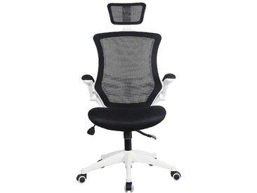 Chaise pivotante de bureau Flexi - avec dossier maille filets et appuie-tête
