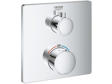 Grohe Mitigeur thermostatique de douche pour Bain/Douche, chrome (24079000)