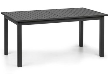 blumfeldt Toledo Table de jardin extensible 213 x 90 cm aluminium anthracite