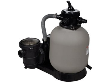 Pompe à filtre à sable 600 W 17000 l/h 350 x 502 x 655 mm (l x P x H)