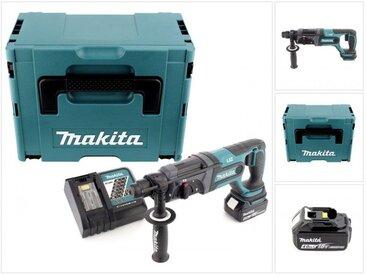 Makita DHR 241 18 V Li-Ion Perforateur-Burineur sans fil SDS-Plus avec Boîtier Makpac + 1x Batterie BL 1840 4,0 Ah + Chargeur rapide DC 18 RC