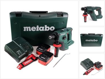 Metabo BHA 36 LTX Marteau perforateur sans fil 36 V + Coffret de transport + 2 x Batteries 1,5 Ah + Chargeur