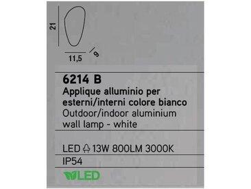 Applique murale LED d'intérieur et d'ext cm 0 PERENZ 6214 B