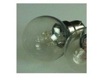 Lampe led 1.2W ambre filament culot B22 230V usage extérieur sur guirlande à douille IPX4 (à l'unité) BLACHERE LDL12-B22