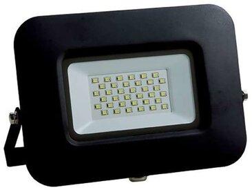 Projecteur LED 30W (150W) Noir Premium Line IP65 2550 lumens Optonica   Noir - Blanc Froid (6000K)