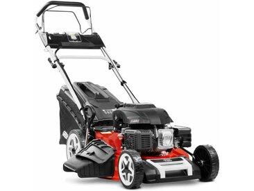 Greencut - Tondeuse à gazon GLM880XE essence 224cc 7.5cv démarrage électrique 4 temps automoteur double lame acier 530mm 21' hauteur de coupe réglable et panier d'une capacité de 65L