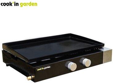 Plancha gaz à poser FINESTA 2 Brûleurs 61 cm Cook'in Garden