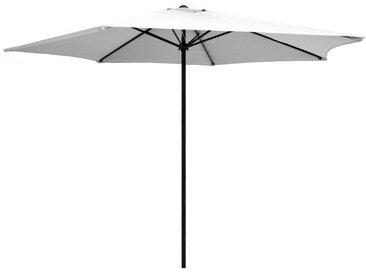 Parasol blanc en aluminium 300 cm Kalomo