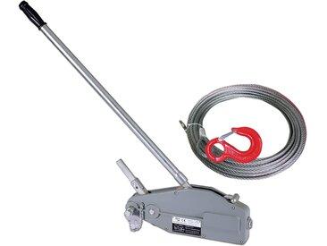 Varan Motors - hoh3200 Tire-fort, tire-câble manuel, treuil de halage à levier 3200Kg + câble 20 mètres ø16mm