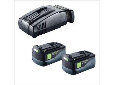 Festool T 18+3 Li-Basic Perceuse-visseuse sans fil + Coffret de tranport Systainer Plus + 2x Batteries BP 18 Li 5,2 AS + Chargeur rapide SCA 8