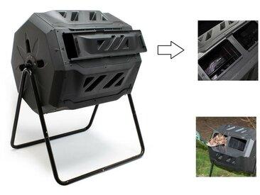 Composteur de jardin rotatif sur pied - 160 litres