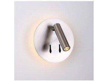 Liseuse tendance double LED et interrupteur - Bilbao