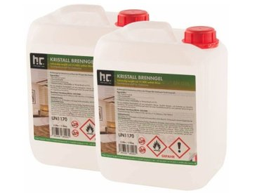 4 x 5 Litre Bioéthanol en gel