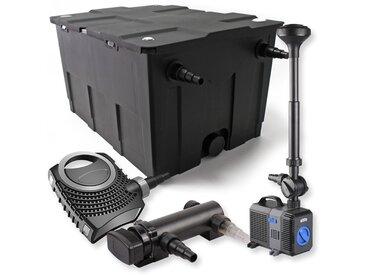 SunSun Kit de filtration de bassin 60000l 18W UVC Stérilisateur NEO7000 50W Pompe Fontaine