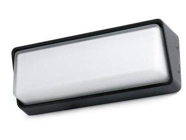 Applique extérieure led Faro Half Noir Aluminium 71537