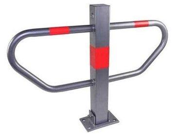 Barrière de Parking Argent Serrure de Parking en Métal avec 3 clé