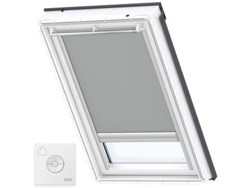 VELUX Original Store Occultant à Énergie Solaire pour Fenêtres de Toit VELUX, PK08, Gris - Gris