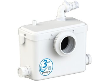 AQUASANI3 - Broyeur sanitaire - MADE IN FRANCE et Garantie 3 ANS