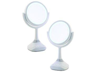 Miroir Grossissant (X5) Bluetooth & led
