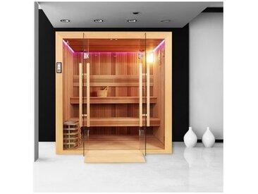 Sauna Boreal® Evasion PRO 200 - 4 à 6 places - 200*170*210