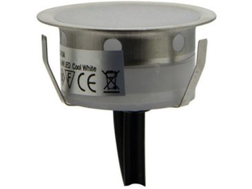 Kit 6 Balises 0,4W IP67 + Câbles + alimentation 12V | Blanc Chaud