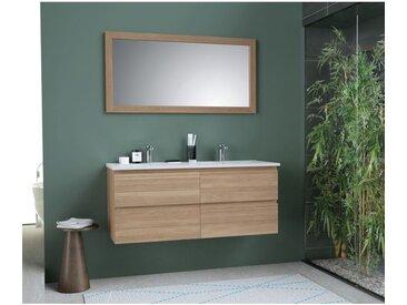 Meuble de salle de bain 120 cm avec miroir Grafika