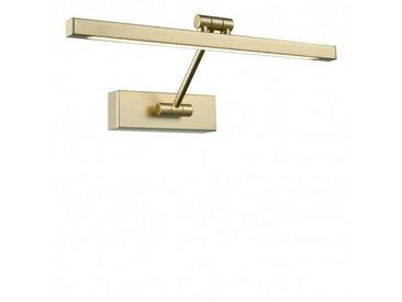 Applique à tableau dorée LED 1 Ampoule Largeur 38 Cm
