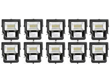 10×Anten 20W Projecteur LED Spot LED IP65 Éclairage Extérieur et Intérieur Blanc Neutre 4000-4500K