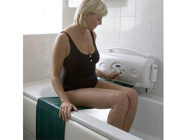 Elevateur de bain - RELAXA - Options: Sans dossier - 35 cm - Blanc et bleu