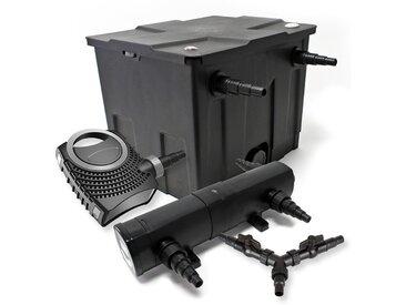 Kit de filtration de bassin pour 12000l 36W Stérilisateur NEO8000 Pompe 70W