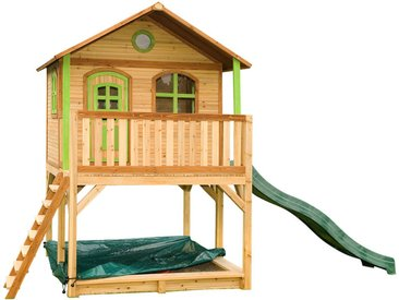 Marc Playhouse: Maisonnette pour enfants, fenêtres intégrées et bois très résistant