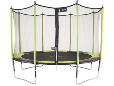 Trampoline de jardin 426 cm + filet de sécurité JUMPI POP 430