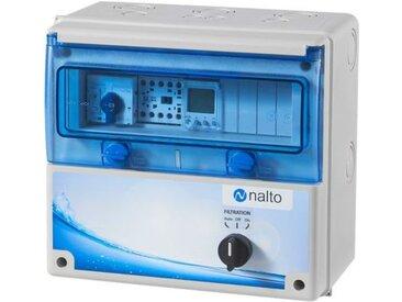 Coffret Electrique Piscine Filtration - Horloge Électronique - Nalto
