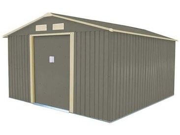 Abri de jardin acier Trigano 8,99 m2. + kit d'ancrage inclus