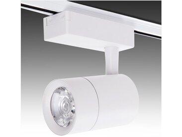 Spot LED Sur Rail Monophasé 30W 2600Lm 30.000H Faith IDI-FC-M-30-CW | Blanc Neutre (IDI-FC-M-30-CW)