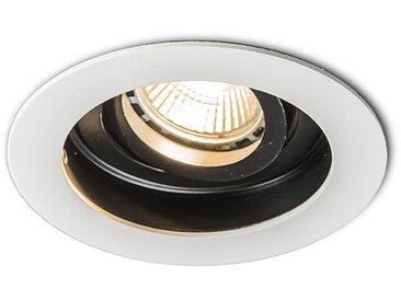 Spot Encastrable / Plafonnier Moderne en acier blanc - Rondoo Qazqa Design, Moderne Luminaire interieur