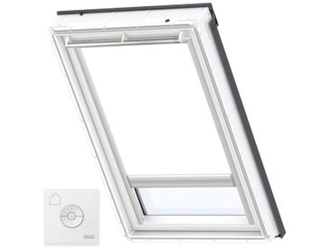 VELUX Original Store Occultant à Énergie Solaire pour Fenêtres de Toit VELUX, PK08, Blanc - Blanc